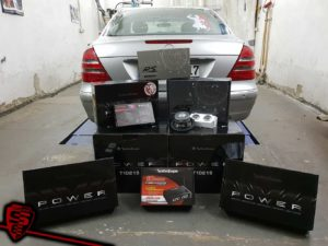 Mercedes W211- Soundupgrade mit RS Audio, Rockford Fosgate